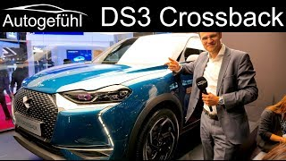 DS3 Crossback REVIEW electric E-Tense vs Petrol/Diesel - Autogefühl