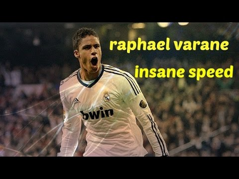 Raphael Varane Insane Speed - HD