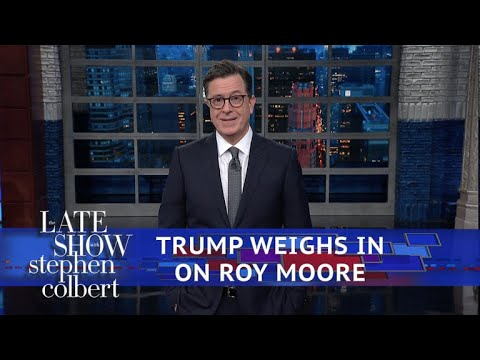 Trump On Roy Moore: 'You Have To Listen To Him'