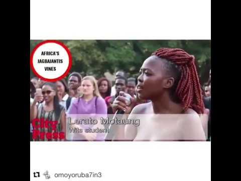 South African women protesting rape thumbnail