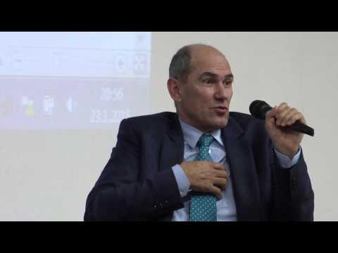 23.01.2015 Janez Janša o aktualnih političnih temah