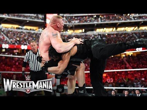 Roman Reigns vs. Brock Lesnar - WWE World Heavyweight Championship Match: WrestleMania 31 thumbnail