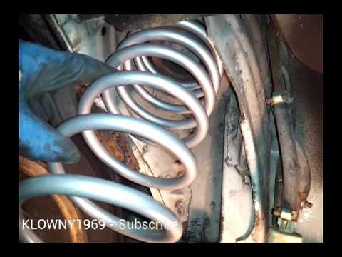 How To Replace Rear Springs And Shocks - 1982- 1992 Camaro / Firebird Thirdgen