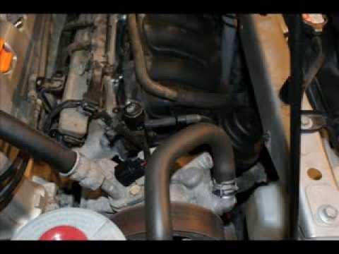 2004 Honda Crv Removing The Starter Youtube