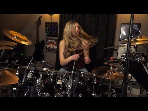 Tool & 39;the Pot& 39; [drum Cover] ~brooke C