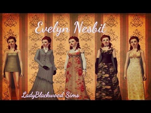 Evelyn Nesbit Ragtime Sims 3 Descargar Evelyn Nesbit