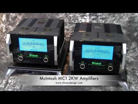 Stereo Design McIntosh MC1.2KW Mono Amplifiers in HD  2013