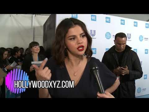 Selena Gomez, Jennifer Aniston, John Stamos We Day 2018 Red Carpet Interviews thumbnail