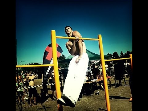 Evgeny Scherbina Workout 2015 - Too tall for pullups ??? ;-)