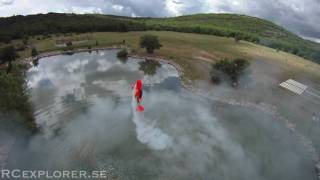 HD FPV - Torque rolling 45% Yak54 above the water - RCExplorer.se