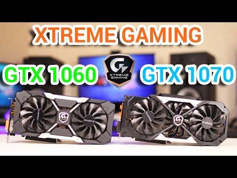 Gigabyte GTX 1060, GTX 1070 XTREME GAMING Большой, Подробный Обзор