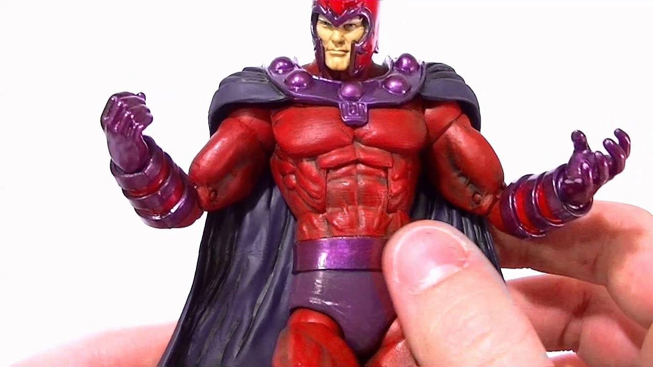 Custom MAGNETO v2 Marvel Legends Action Figure - YouTube