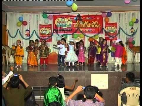 Aao Bachcho Tumhe Dikhaye song performance on Annual Day 2011...