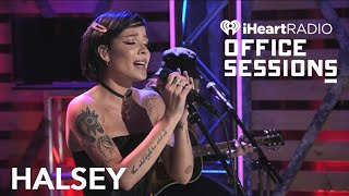 Halsey Performs 'Graveyard' Live at iHeartRadio Office Sessions