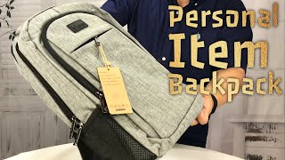 Airline Personal Item Travel Laptop Backpack by Matein Review