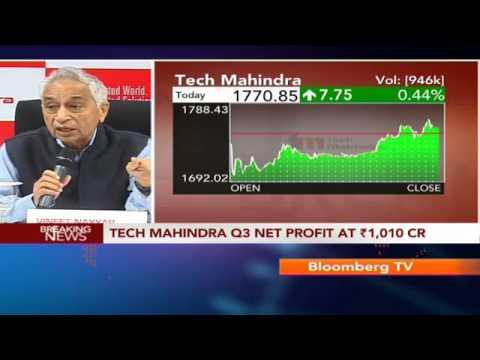Earnings Edge - Tech Mahindra Q3 Net Profit At Rs.1,010 Cr