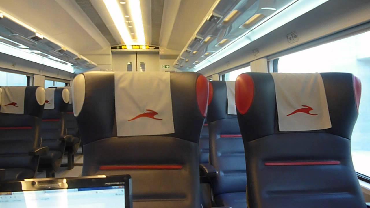 Italo treno alta velocit video interno al tav roma for Interno 5 b b roma