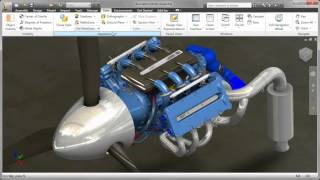 Autodesk Inventor 2016 - CAD rendering and visualisation tools