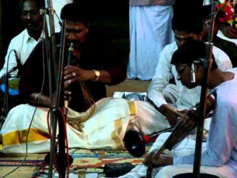Kacheri Oachira Sivadasan(Nadaswaram)