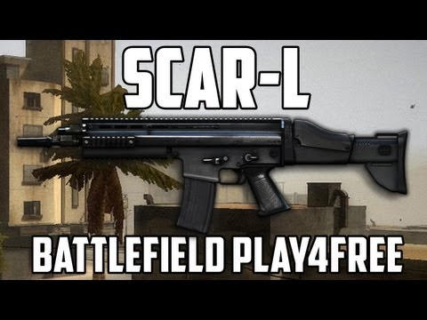 Battlefield Play4free Scar-L Gun Review