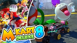 ¡Policias Vs Ladrones! - #01 - Mario Kart 8 Deluxe (Switch) Naishys y Dsimphony