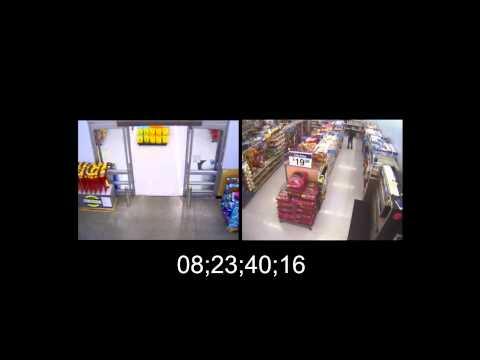 Wal-Mart Surveillance Video of John Crawford III Shooting