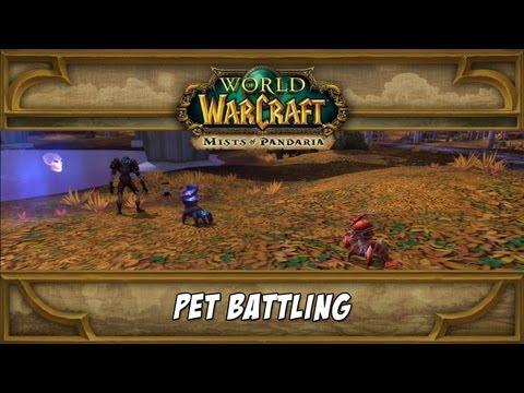 World of WarCraft - Pet Battling