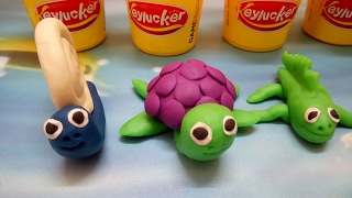 Play doh videos - How to make play doh animals - DNV play doh videos ice cream