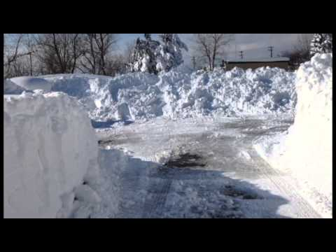 November Snow Storm In Buffalo - 11/19/14