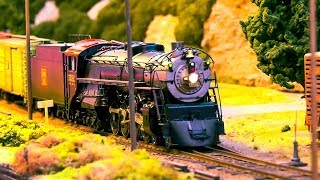 AMAZING MODEL RAILROAD RAILWAY SIZE O SCALE 1:45 * MODEL LOCOMOTIVES, MODEL TRAIN