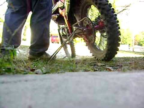 2002 Honda CR250R Custom Video