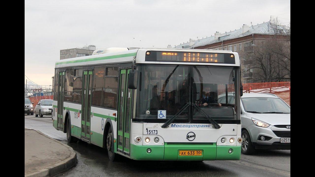 Маршрут автобуса 2 6 на карте Москвы - WikiRoutes info