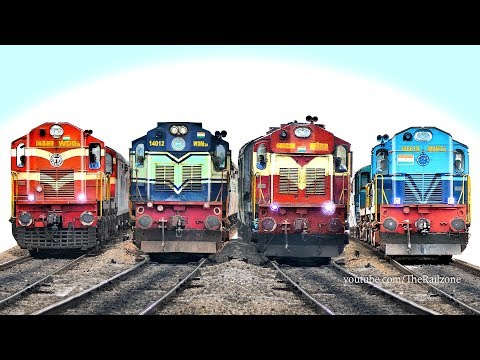 Single Line Trains : Indian Railways ( Bangalore - Dharmavaram ) thumbnail