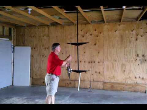 Polekaddy Overhead Rod Holder Youtube