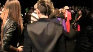 Emma Marrone alla sfilata di C'N'C Costume National Fall-Winter 2012/2013