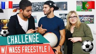 COMMENT TUER UN YOUTUBEUR AVEC UN BALLON ? W/ WASS FREESTYLE
