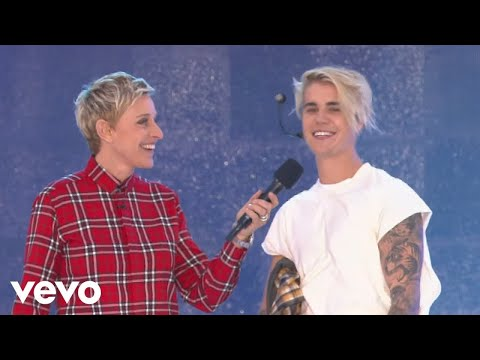 Download Justin Bieber - What Do You Mean? (Live From The Ellen Show) Mp4 baru