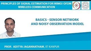 Lec 01 Basics–Sensor Network and Noisy Observation Model