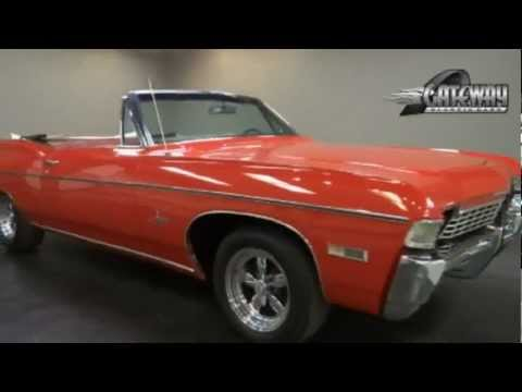 1968 Chevrolet Impala Convertible for sale at Gateway Classic Cars in