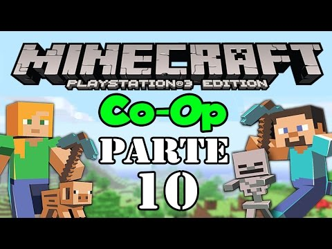 Lets Play: Minecraft PS3 Co Op Parte 10