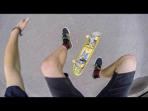 Go Pro Flat Skateboarding 240fps 4 - Ellis Frost