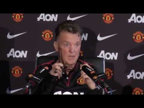 LOUIS VAN GAAL'S PRESS CONFERENCE: MAN UTD v QPR