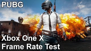 PlayerUnknown's Battlegrounds Xbox One X Frame Rate Test (Early Access)
