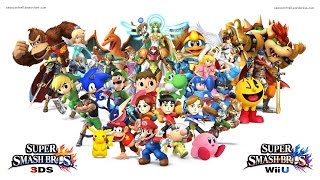 Super Smash Bros Wii U All Final Smashes All Characters HD
