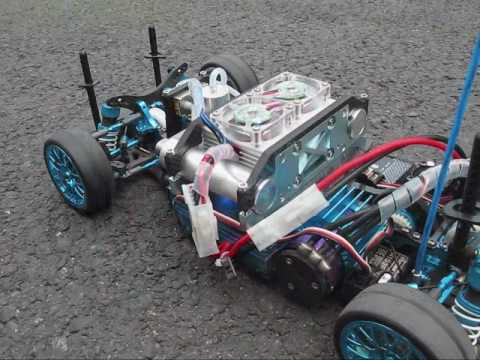 H-CELL 2.0 hydrogen fuel cell power kit for hobby-grade RC racing........