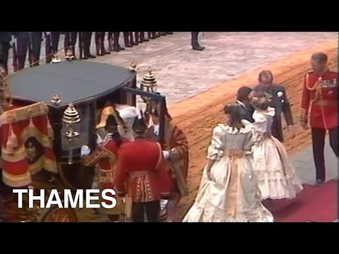 Princess Diana - Royal Wedding - 1981
