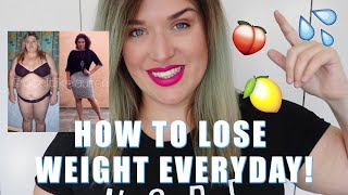 6 THINGS I DO EVERYDAY TO LOSE WEIGHT! | LoseitlikeLauren