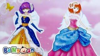 Đồ chơi trẻ em ~ Thay phục trang cho công chúa lấp lánh ~ Thiên sứ cổ tích