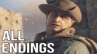 BATTLEFIELD 1 - All Endings