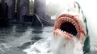 Japanese Jaws The Ride POV Universal Studios Japan
